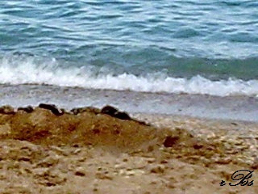 """Black Sea"" kissing sand by brindusarosca7"