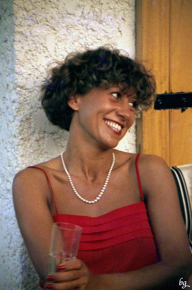 Portrait of a smile by Bernard Guillon