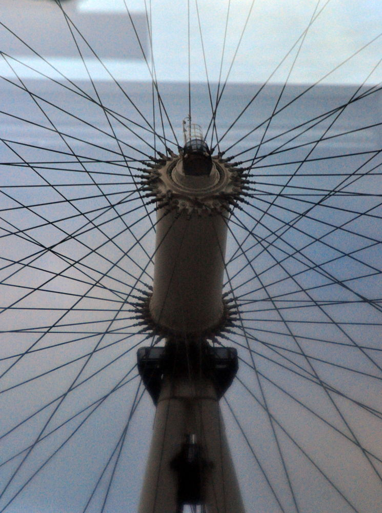 london eye or bicycle by Alexandra Csuport