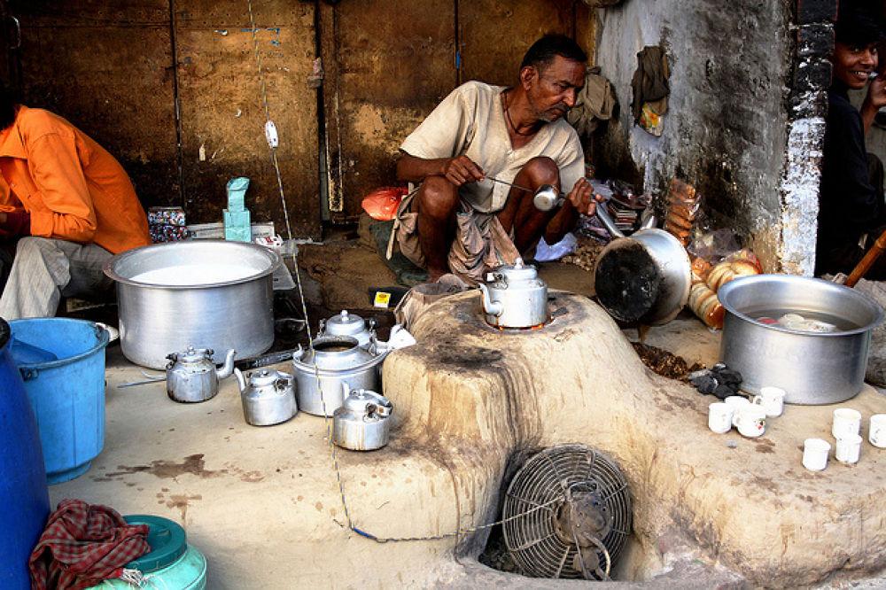 Rural Tea Stall by Shobhit Chaturvedi