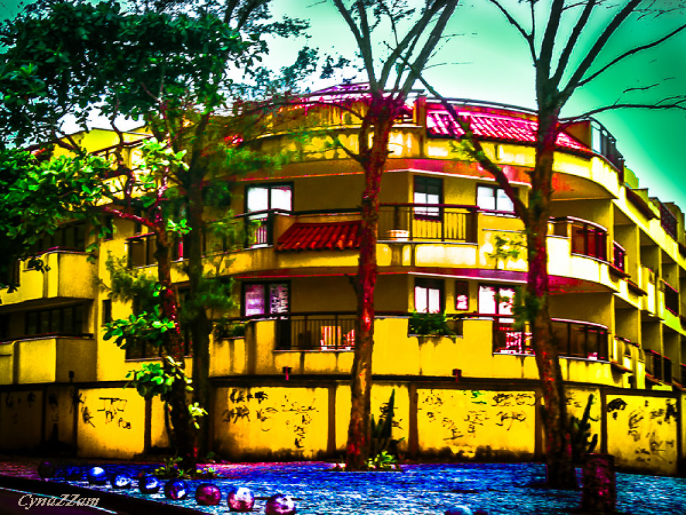 Photo in Architecture #brazil #architecture #yellow #city #rio