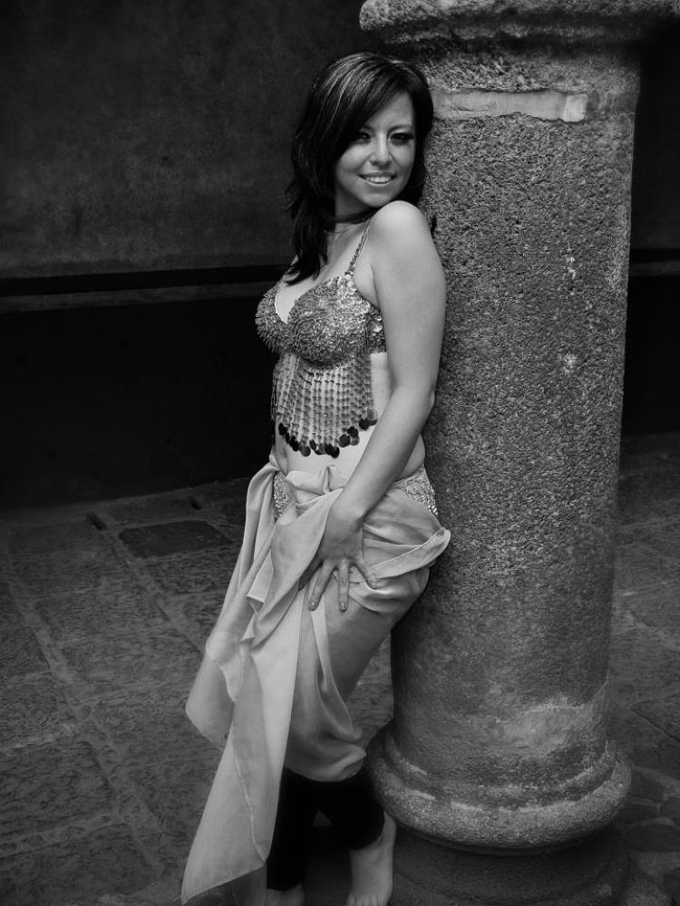 belly dancer by Rivera Pastrana