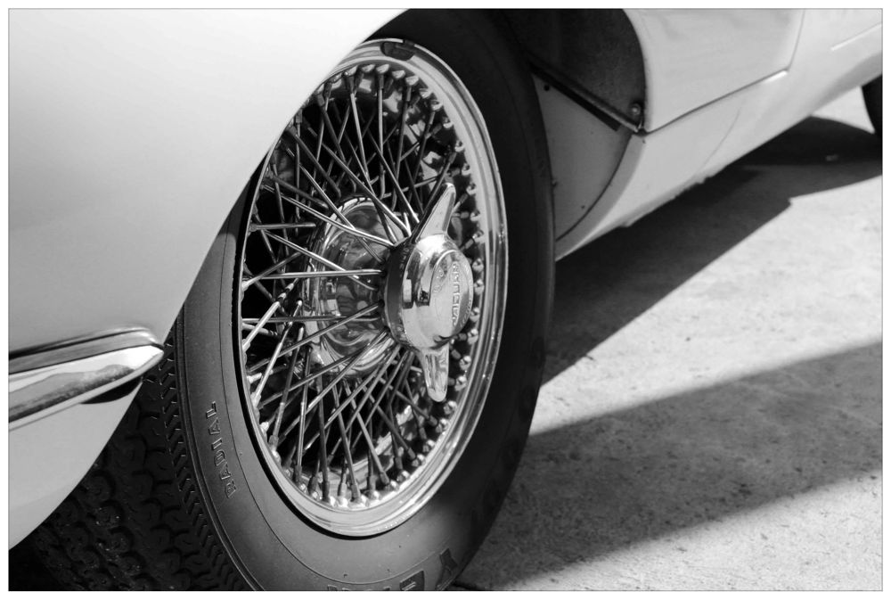 Jaguar Wheel by Anton Du Plessis