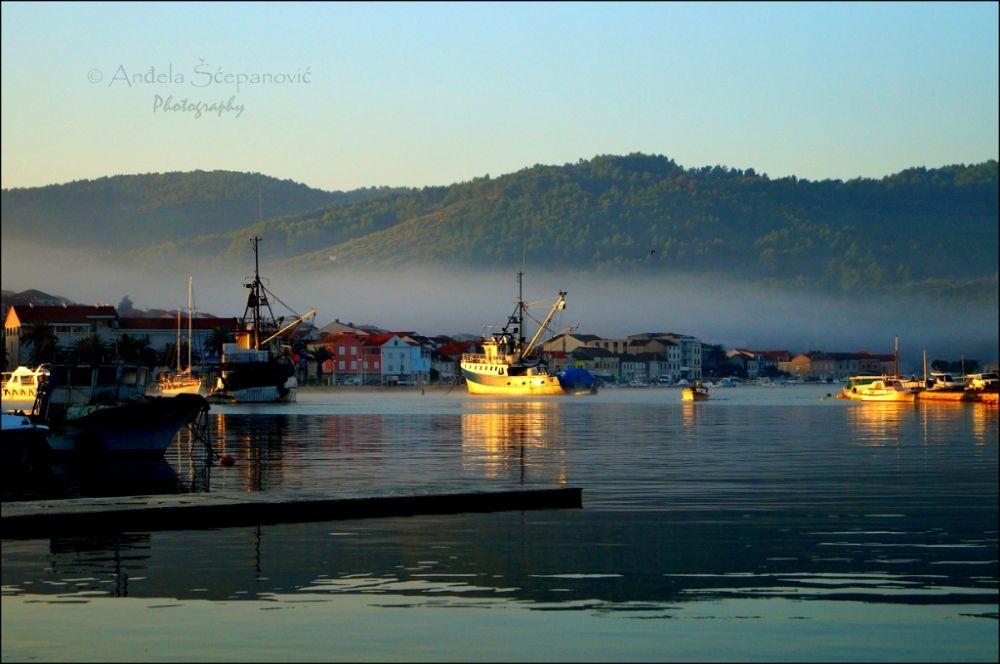 Early morning, Vela Luka by AngiePhotography