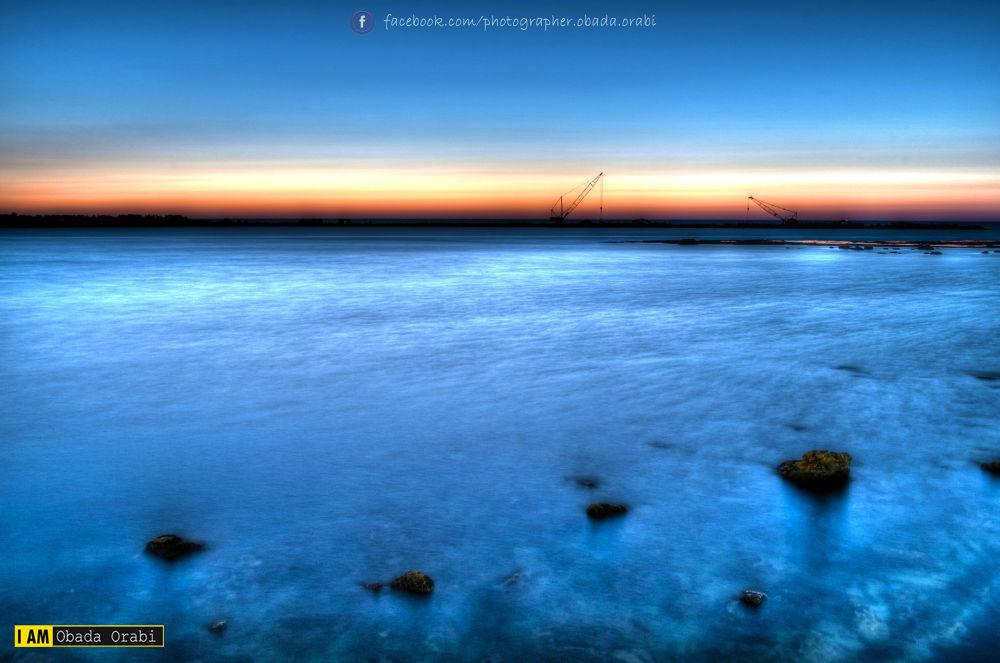 HDR seascape by obada orabi