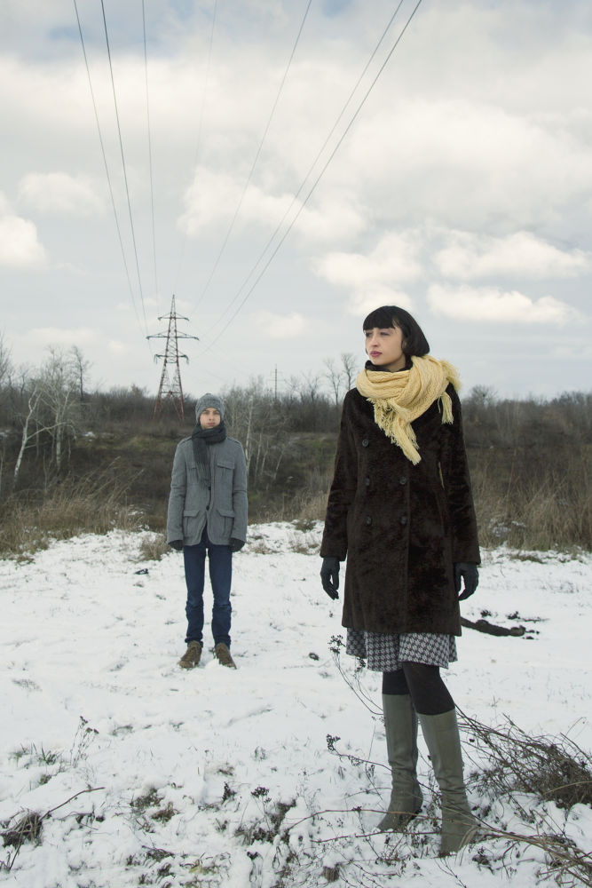 mom and son by kartavitsky