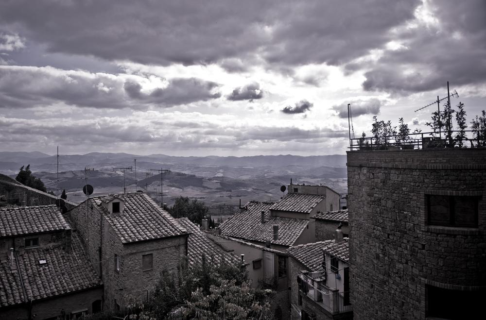 Photo in Random #toscana #col val elsa #black and white #italy #sommer