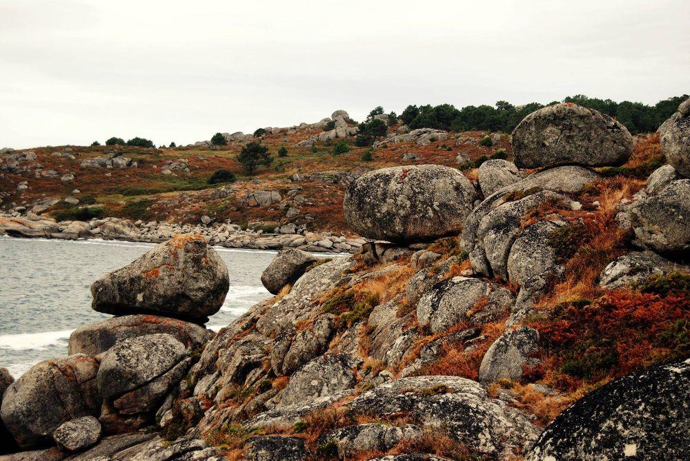 Curiosa formación rocosa en cabo Udra #bueu #viveomorrazo by xosebangueses