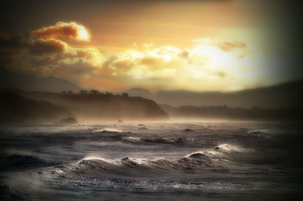 Baie de Biarritz by FRANCIL POWER