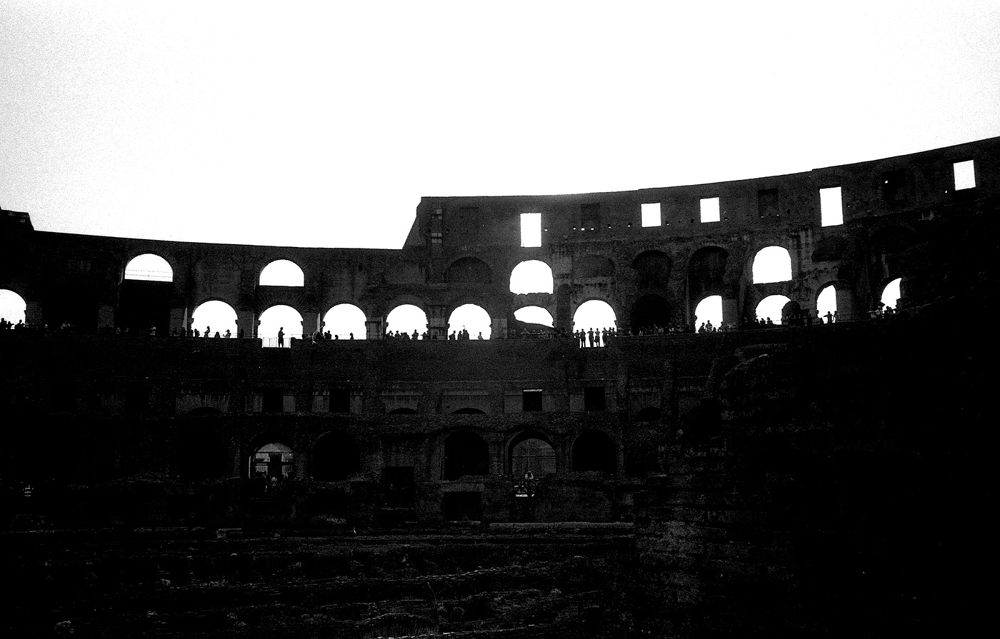 COLOSSEO B&W by guidozong
