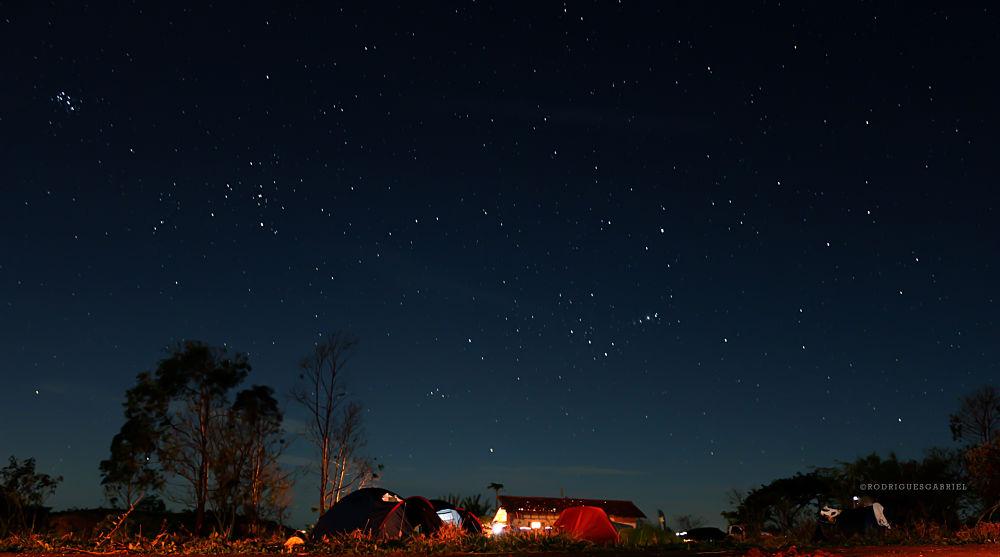 Photo in Random #ypa2013 #sky #night #stars #pleiades #space #universe