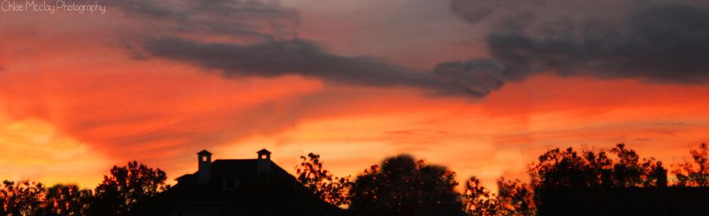 Florida pink sky by ChloeMcclay2