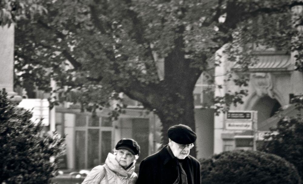 The old Couple . Berlin by alirezarezvani