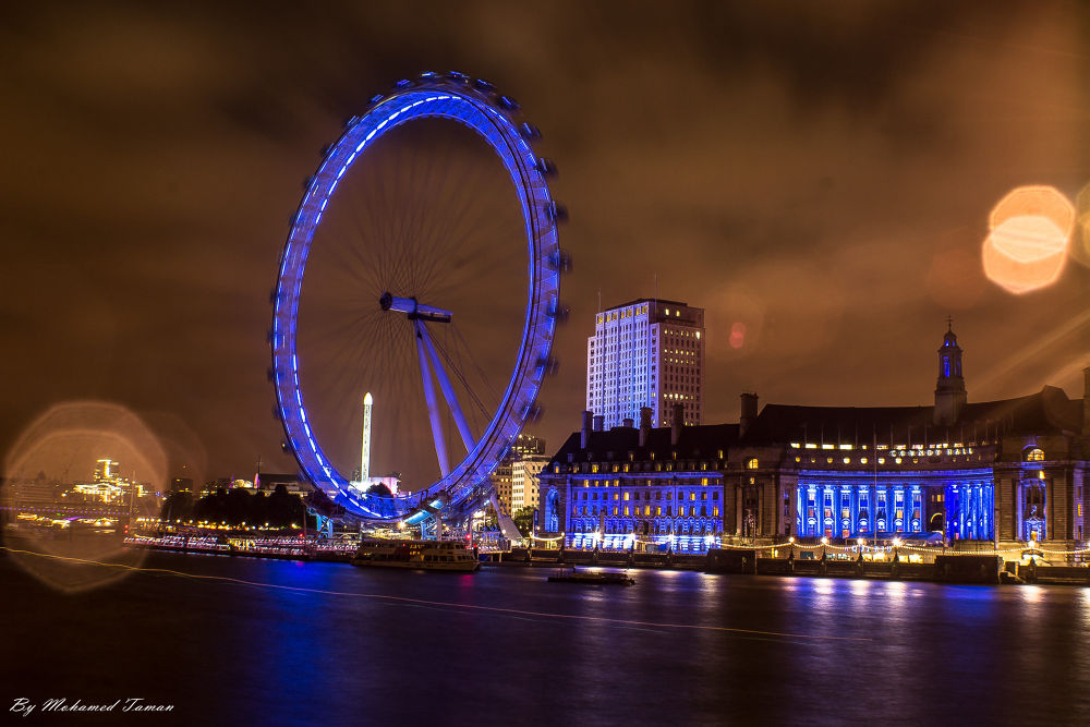 The London Eye by tamanm