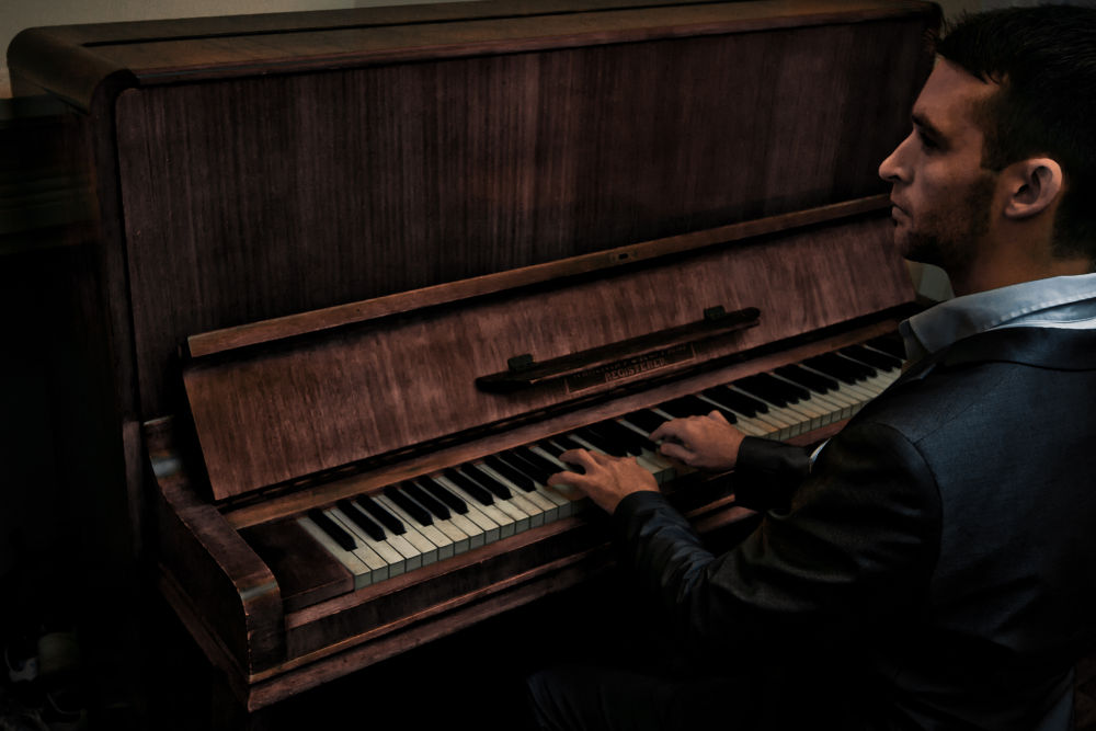 The Pianist by Alfie Shillingford
