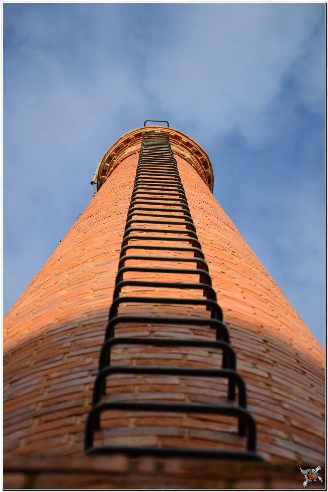 Photo in Random #chimney #urbex #old cork factory #wicander #seixal