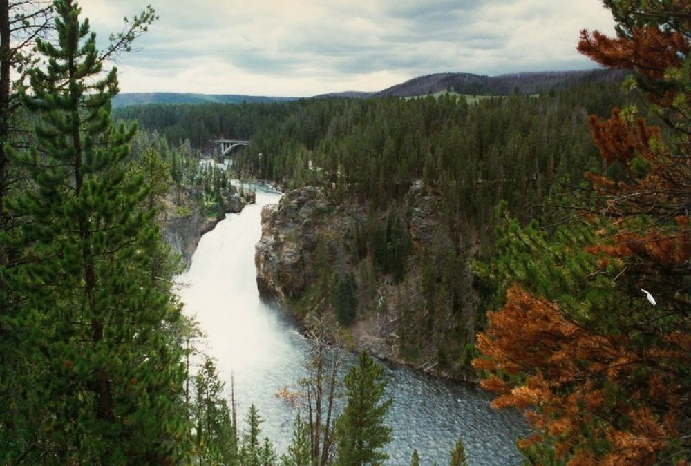 4.USA_Wyoming_Yellowstone Grand Canyon_1996-107 by Arie Boevé