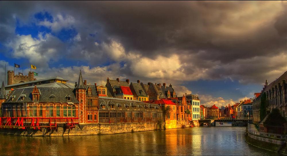 Old Fishmine, Gent, Belgium by edgartossijn