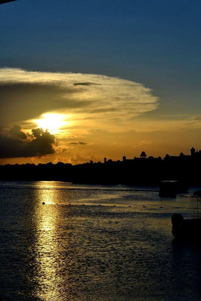 Photo in Random #usa #sunset #disney #united states #orlando #downtown disney #florida