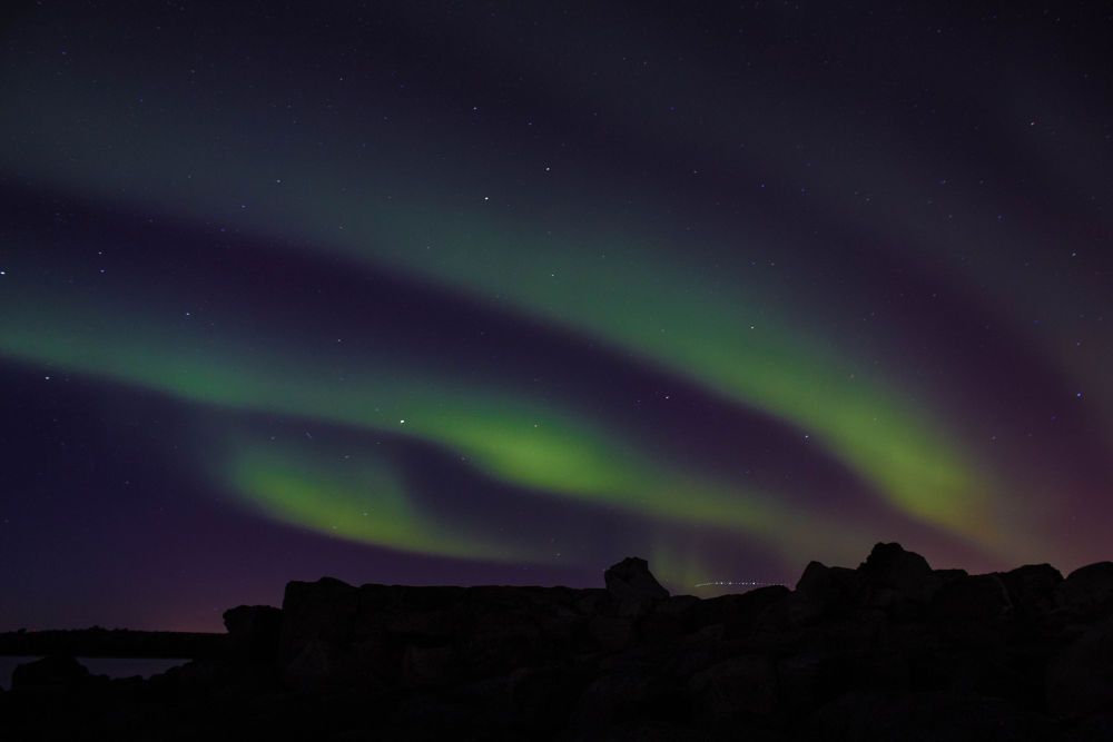 Northern lights by kristofermaniaxelsson