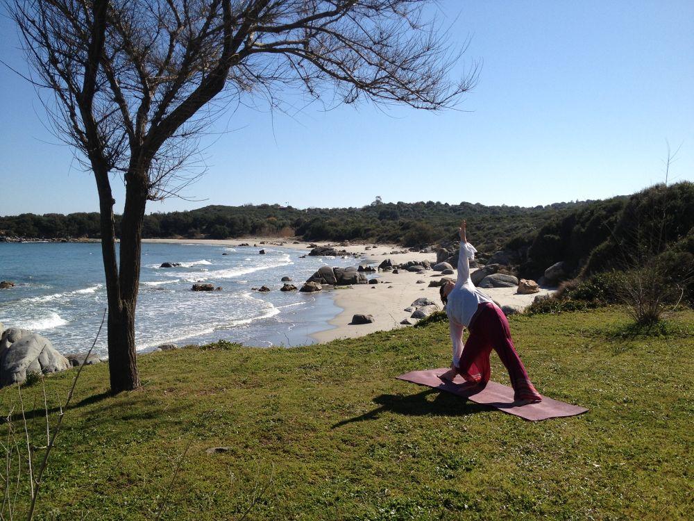 Photo in Sea and Sand #sardinia #sardegna #ogliastra #trikonasana #yoga #asana #yogini #yoga in sardinia #yoga in italy #yoga al mare