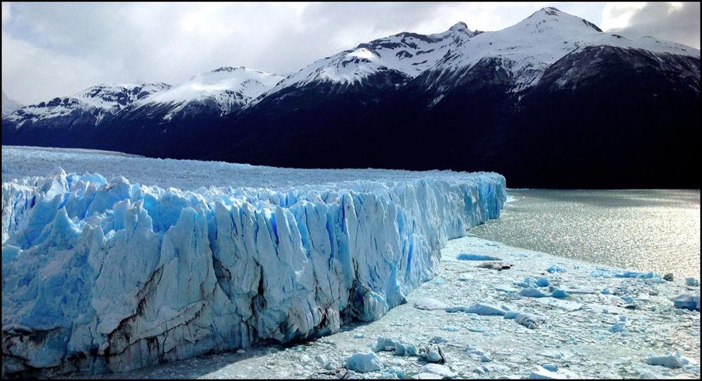 Glacier, Perito Moreno. El Calafate, Argentina by amyCorder