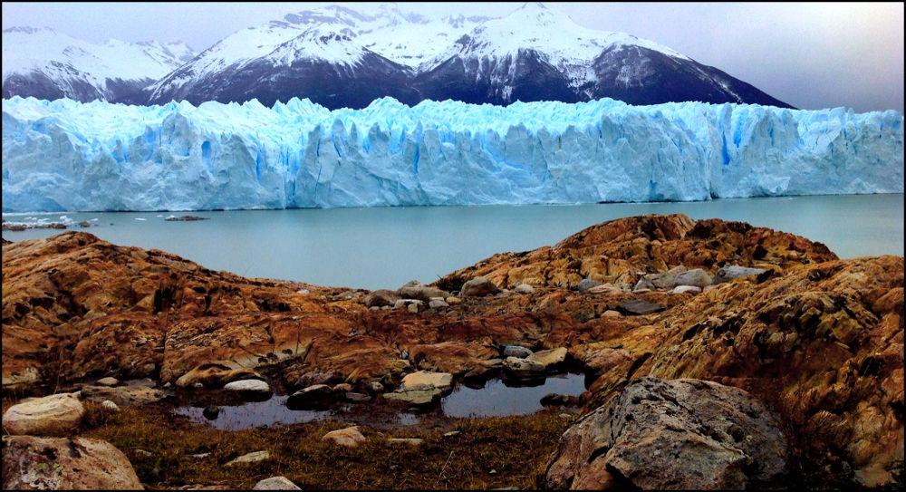 Glacier, Prerito Morean. El Calafate, Argentina by amyCorder