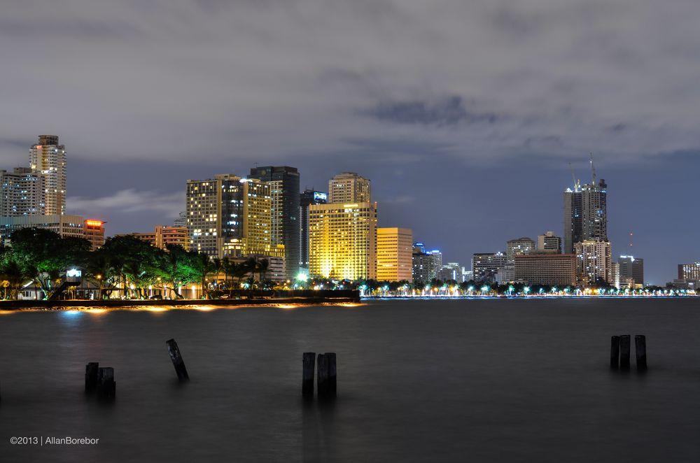 City Lights by Allan Borebor