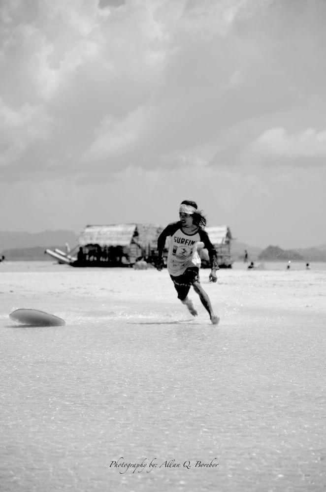 The Surfer copy by Allan Borebor