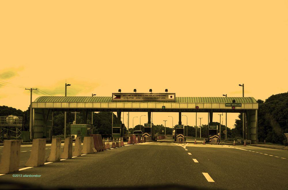 Empty Highway by Allan Borebor