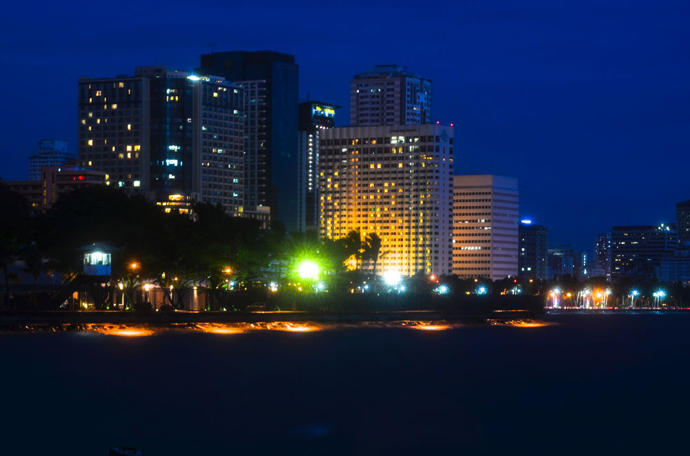City Lights III by Allan Borebor