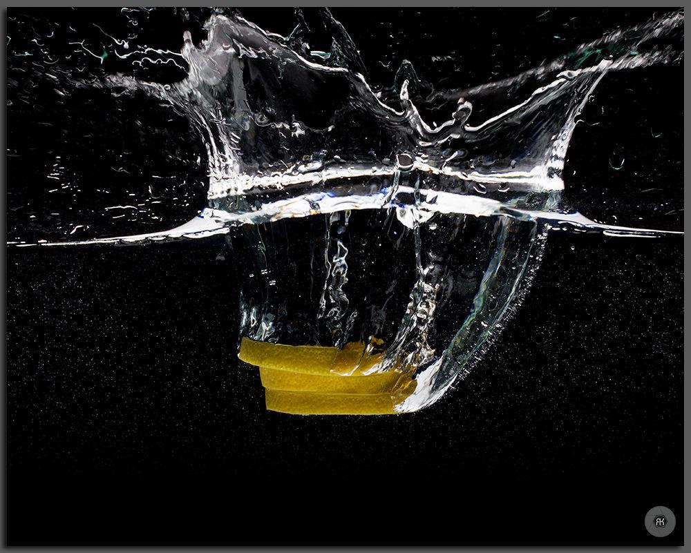 Photo in Random #water #splash #fruit