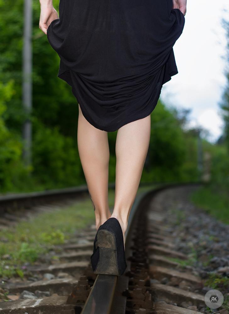 Photo in Random #track #girl #legs #way