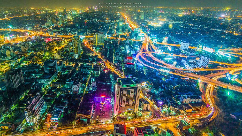 BANGKOK CITY 2013 by Komkrit Phochai