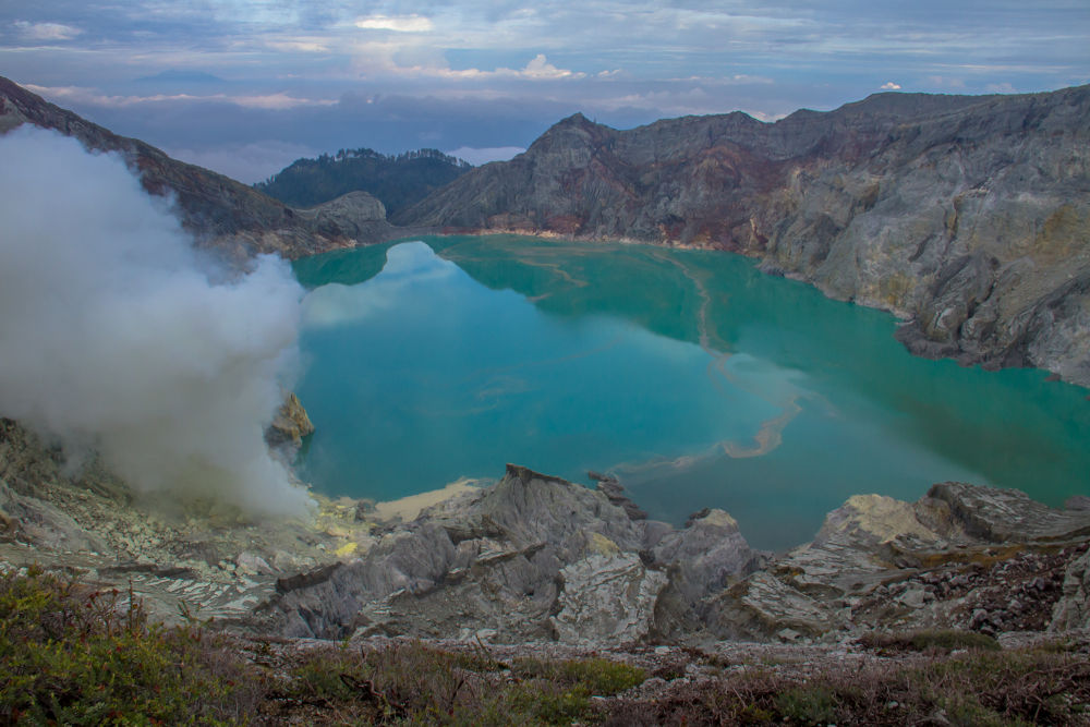 ::  Ijen Crater   east  Java  ::: by Dean Bali Photography