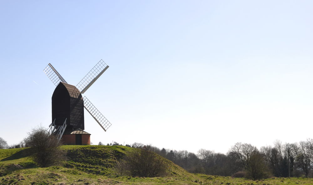 Brill Windmill,Buckinghamshire by Tony Steele