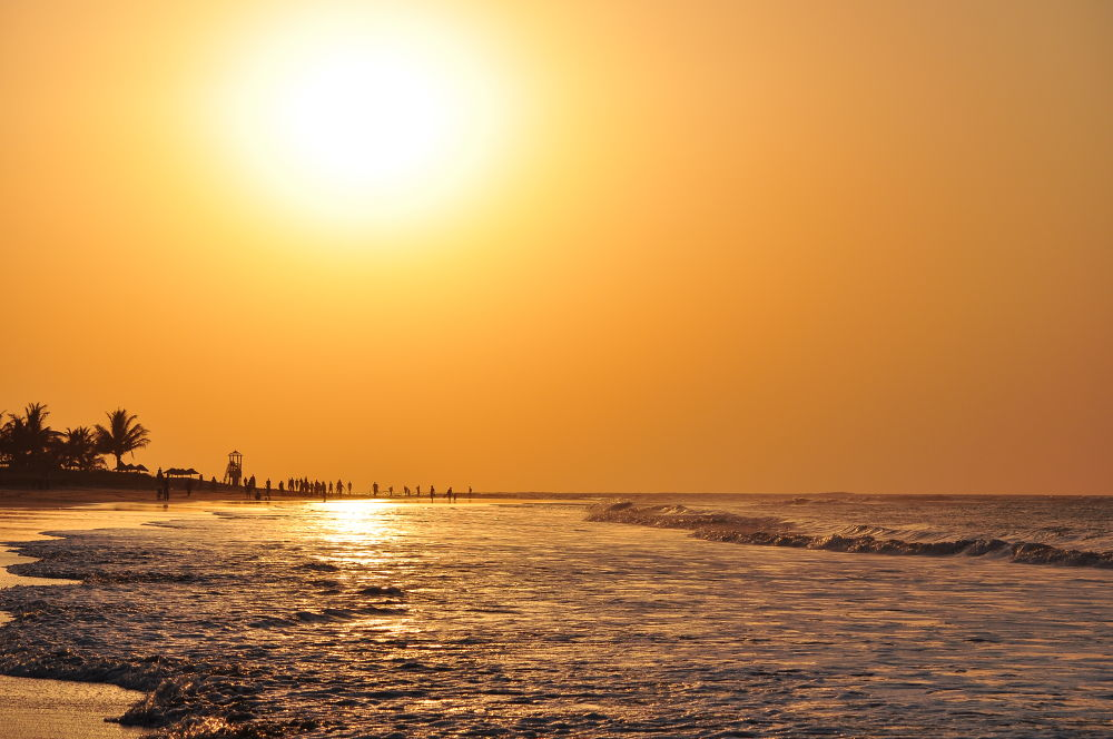 Gambian Sunset by Tony Steele