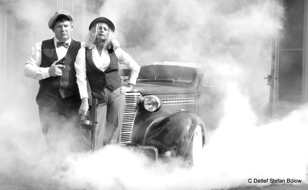 Bonnie and Clyde by detlefbuelow