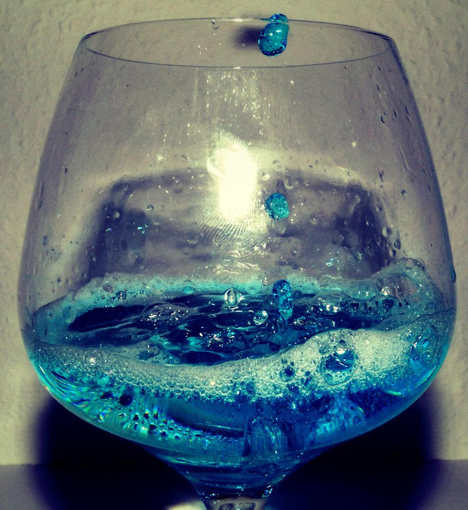 Blue Liquid Art by Sven Herkenrath