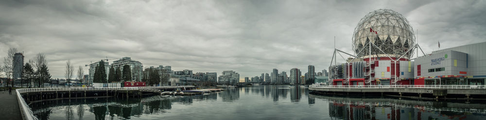 Vancouver Skyline  by Michael Sinclaire
