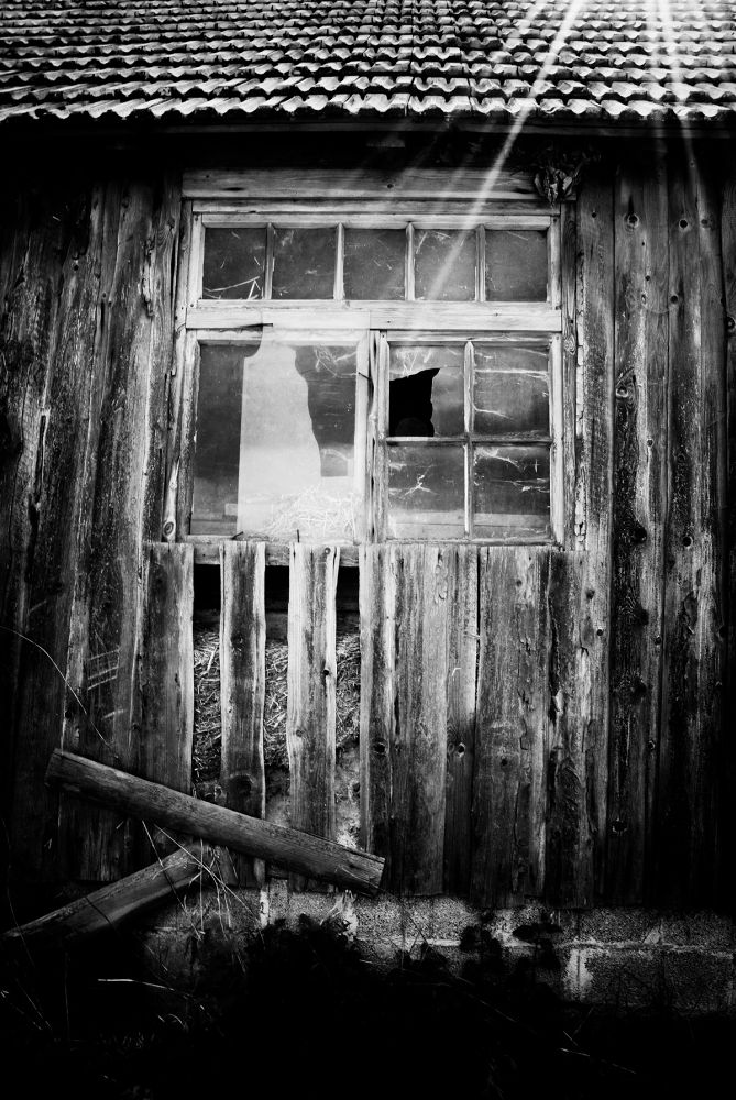 old barn by marcelzeiss5