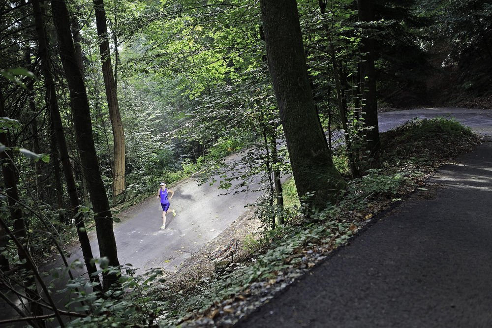 Triathlon - Run  by Diego Gracia