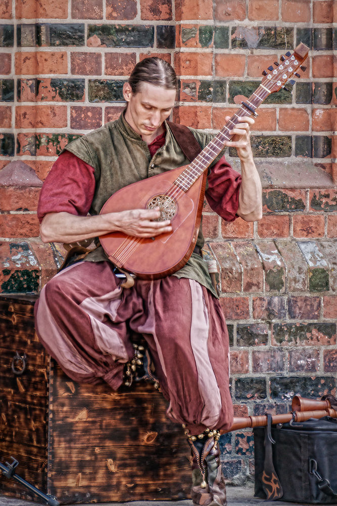 musician by Franziska Nierath
