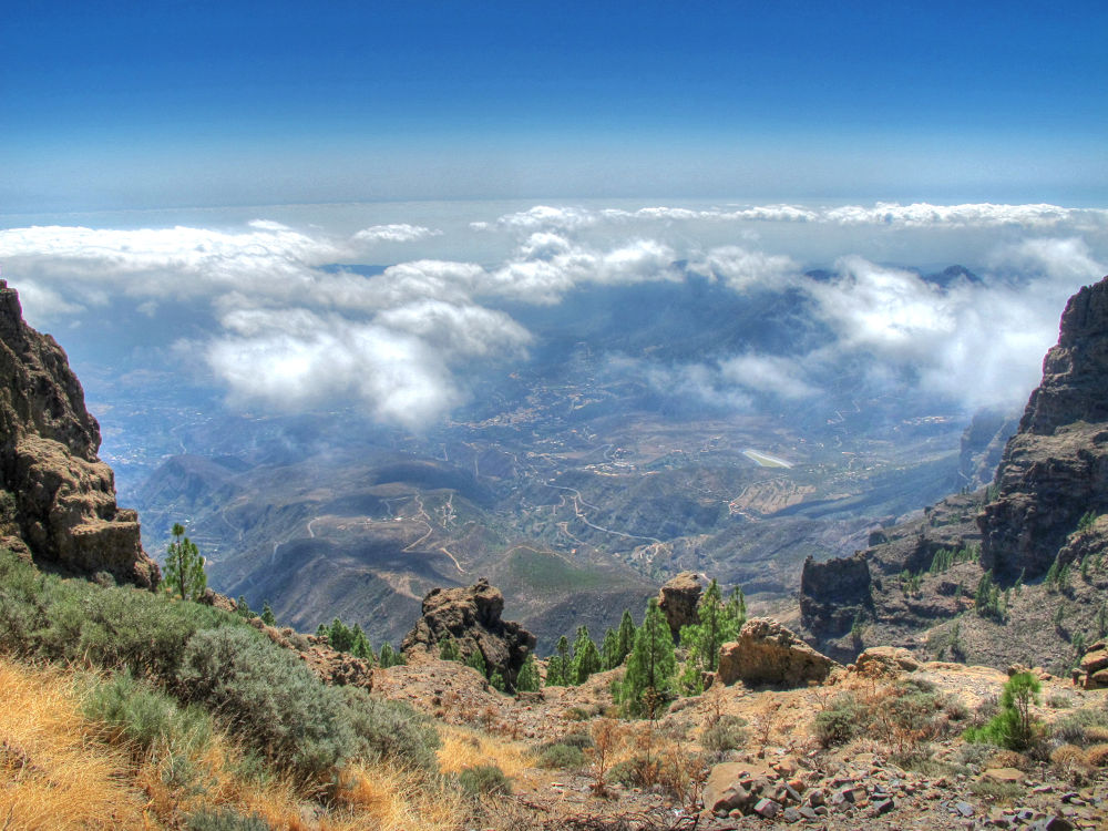 Photo in HDRI #paisajes nubes #nubes #mar de nubes