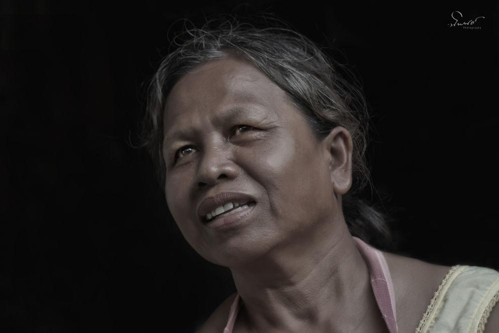 My Mother by NiponUngsriprasert