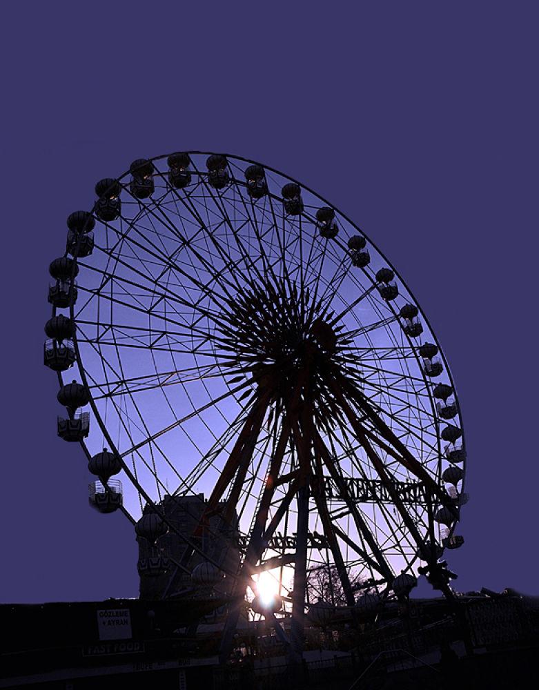 ferris wheel by  Nur Keyder