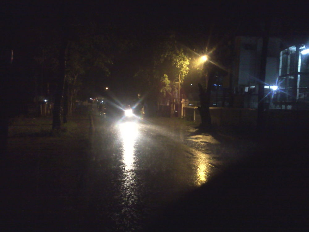 rain in my city by Abhik Bhattacharya