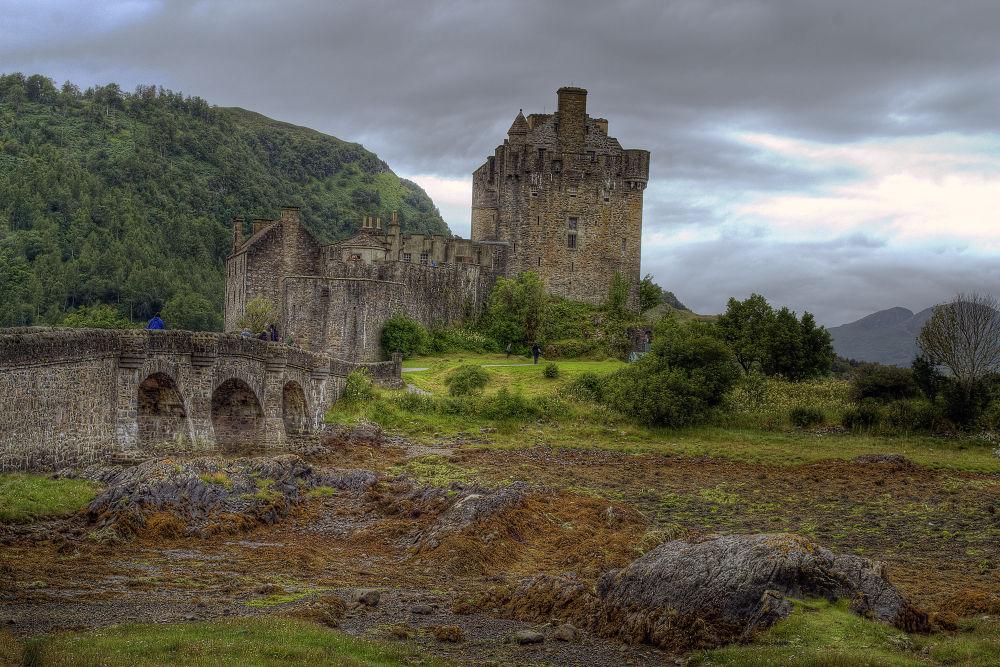 Photo in Architecture #eilean donan #lochalsh #scotland