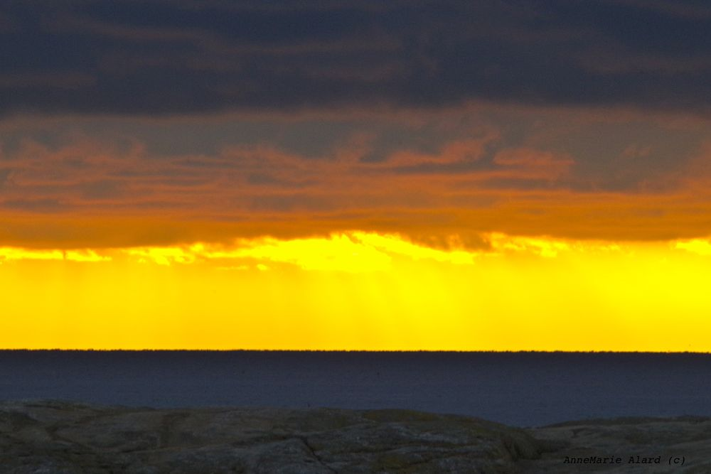 Sunset in Hyppeln by annemariealard