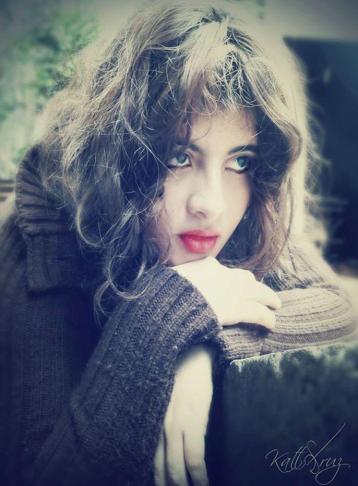 Staring into you by Katya Cruz